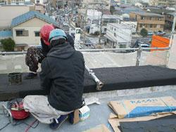斜壁も屋根の一部